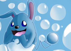 Azumarill by DisasterTheAbsol