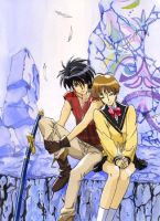 Return to Fanelia . Escaflowne by escafan