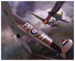 Supermarine Spitfire Mk Vb by dugazm