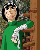 Rock Lee by xxxmaniacmikexxx