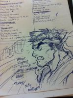 street fighter all day in my mind by ONELOUSYCAT
