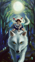 Princess Mononoke by Chukairi