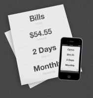 Bills app web icon by ashzilladesign