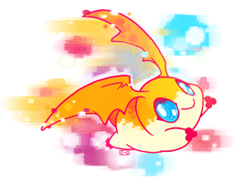 Patamon by crayon-chewer