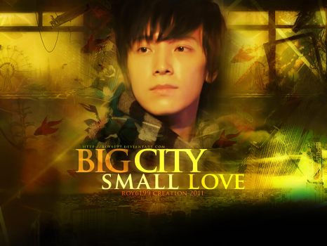 Big city small love by ROY6199