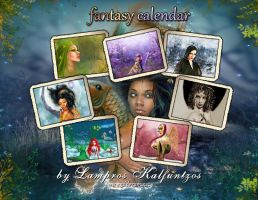 ..+ Fantasy Calendar +.. by 3ddream