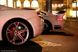 McLaren Mp4 and Gemballa Avalanche by ramyk