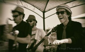 Free Soul band in Sepia by GJ-Vernon