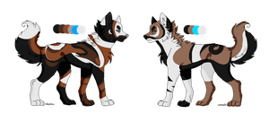 Wolf Adopts Point Auction (1 LEFT) by starscreamfan10100