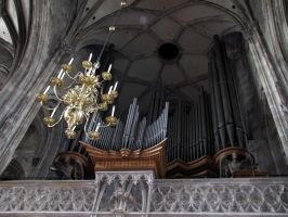 Stephansdom - main pipe organs by kwizar