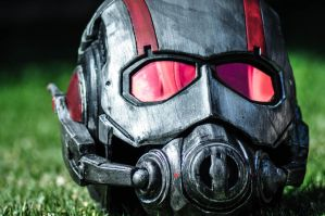 Ant-man close up by drummerkidd12