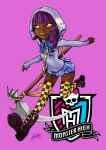 Monster High oc Grim Ripper School Uniform by skyshek