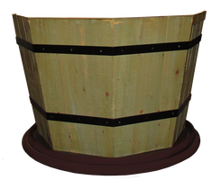 A Wooden Pot by TheStockWarehouse