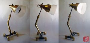 Pipe Lamp by artanis-one