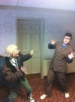 America And The Doctor - Cosplacon 2013 by AustrianArtemis