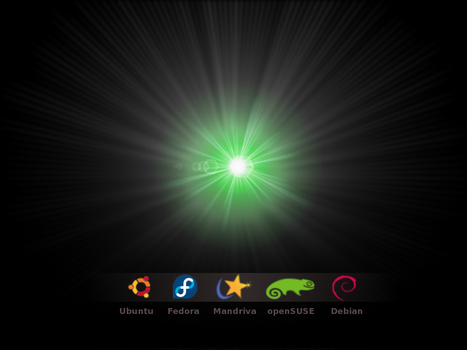 linux distro's by NeonAliph