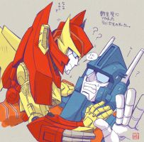 MTMTE Rody and TV Magnus by YUKIZARASI
