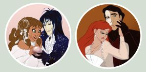 Halloween Couples by NautilusL2