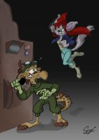 Taylor Shifty - In ACTION! by MartonSzucsStudio