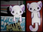 :Kitty Bookmark: by PrePAWSterous