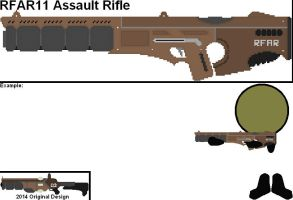 Remastered Weapons - RFAR11 Assault Rifle by YellowNinja123