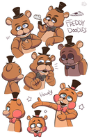 Freddy Doodles by HINOKI-pastry