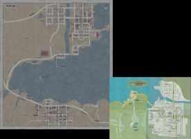Silent Hill Full map by 10of13