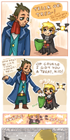 Happy halloween Link by emlan