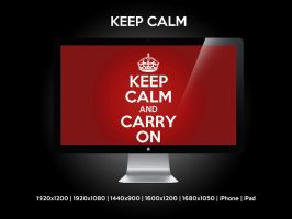 Keep Calm by Mrfletch1000