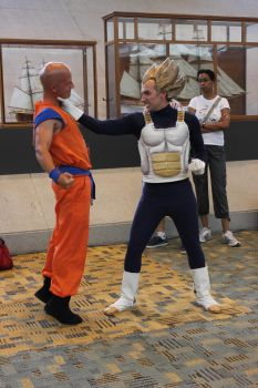 Krillin Crosses the Prince by LiveActionVegeta