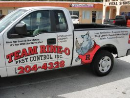 Team Rhino Pick Up Truck by steveclaus