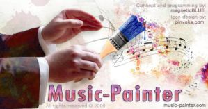 Music-Painter - Splash 1 by magneticblue