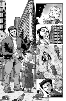 Wolverine and the X-Men sample pages by augustustodopoderoso
