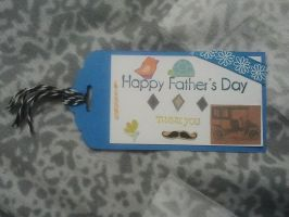 Father's Day Gift Tag by NickyW093
