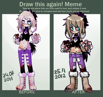 improvement meme by XErrORX666