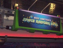 Buzz Lightyear's Space Ranger Spin by blunose2772