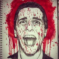 American Psycho (Christian Bale) by Jobae91