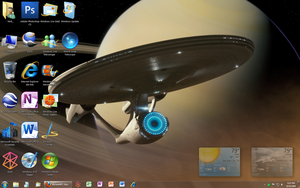 Ultimate 1337 desktop... by GateFan