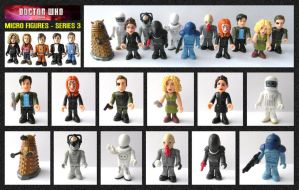 Doctor Who - Micro Figures Series 3 by mikedaws