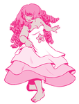 Rose Quartz Spin by ratopiangirl