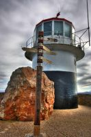 Cape Point Lighthouse III - HDR by somadjinn