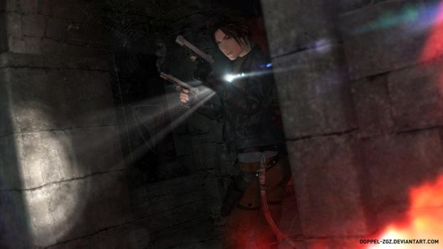Shadow of the Tomb Raider: Vatican Catacombs by doppeL-zgz