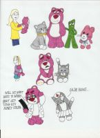 Toy Story 3: Lotso's New Life by Cartuneslover16