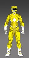 MMPR Yellow Ranger Concept by monstrous64
