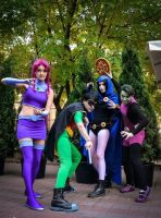 Teen Titans COSPLAY by Jiosan