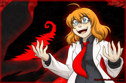 A Mad Doctor's Cackle by Foxy-Sierra