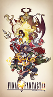 Final Fantasy IX by Tigerhawk01