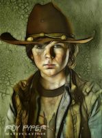 The Walking Dead: Carl: Fractalius (Vers. 2) by nerdboy69