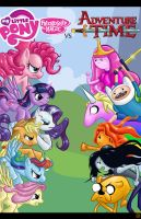 My Little Pony vs Adventure Time by Theamat