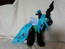 Queen Chrysalis other side by RighteousBabet
